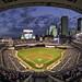 minnesota twins target field baseball stadium fisheye by Dan Anderson.