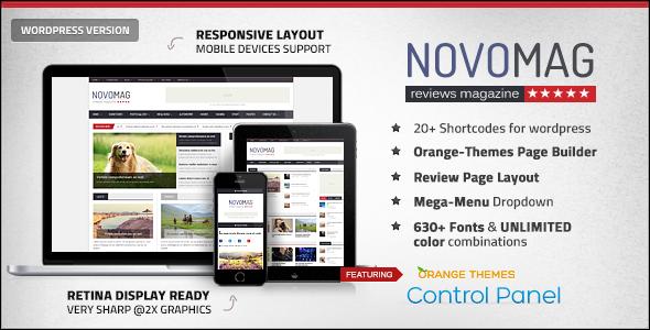 Novomag v1.2.1 - Clean & Flat Magazine