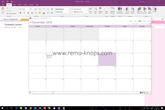 Onetastic for Microsoft OneNote 30