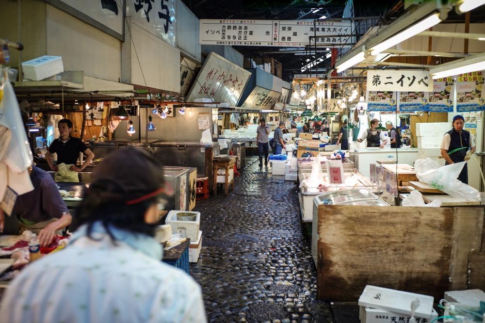 風情文化/探访世界上最具传奇色彩的东京築地魚市 Tsukiji Fish Market12