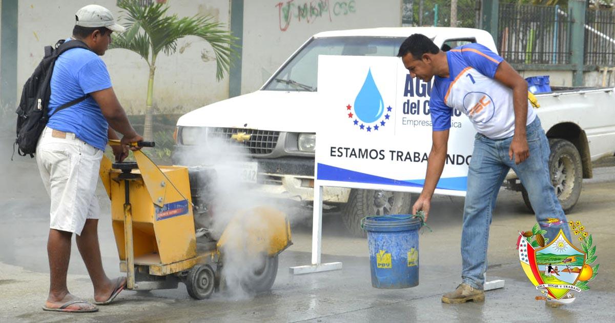 Empresa de agua enfrenta emergencia por lluvias en Chone