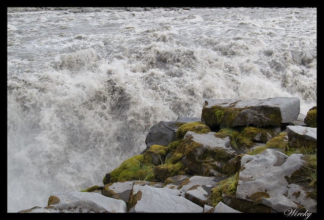 Cascada Dettifoss desde carretera F862