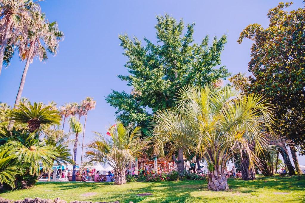 Park near the Palais des Festivals
