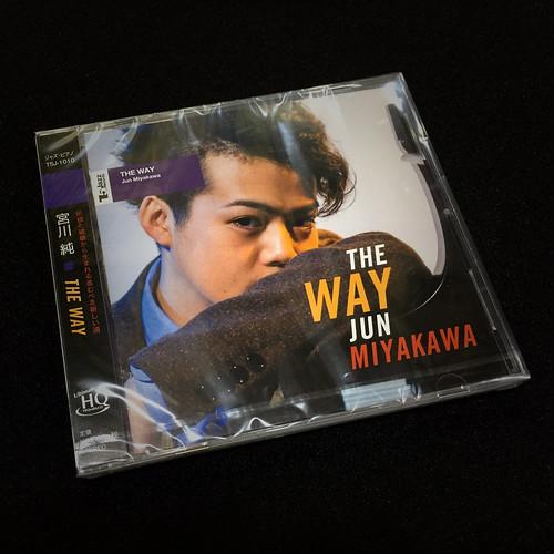 """Jun Miyakawa new album """"THE WAY"""" package."""
