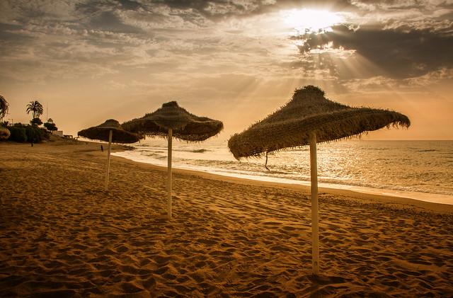 Playa de Mojácar. Almería