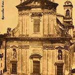 1719 1930 Marino, veduta particolare S. Barnaba b,,  facciata di. del Grande, Foto Luce b,