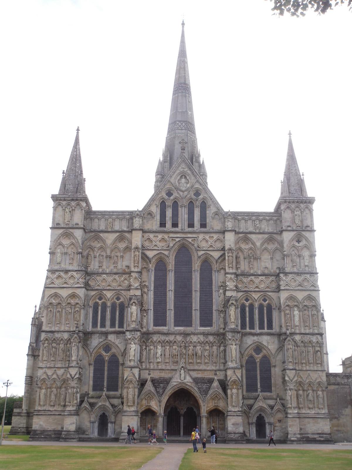 Salisbury Cathedral Portal SWC Walk 254 Salisbury Circular