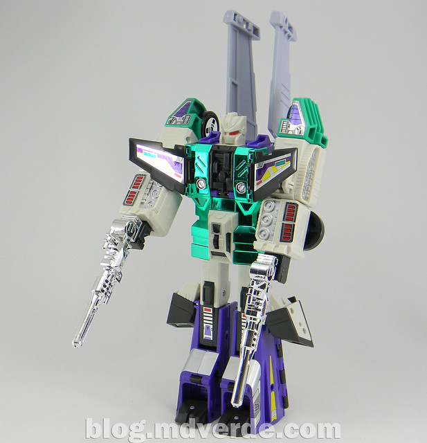 Transformers Sixshot G1 Reissue - Transformers Asia - modo robot