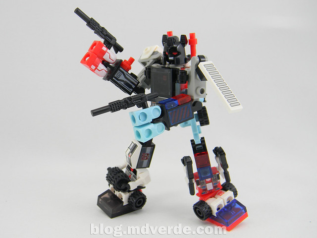 Transformers Defensor Kre-O - modo combinado