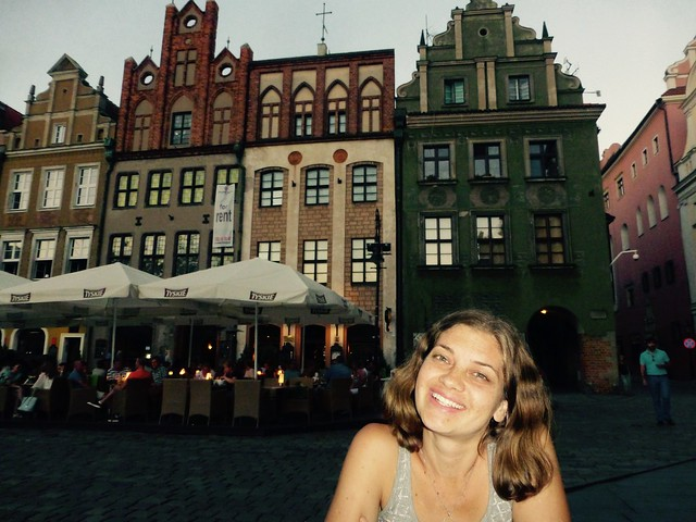 Evening eating at the Stary Rynek