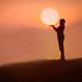 puesta de sol viña del mar chile by yeimmy.velasquez