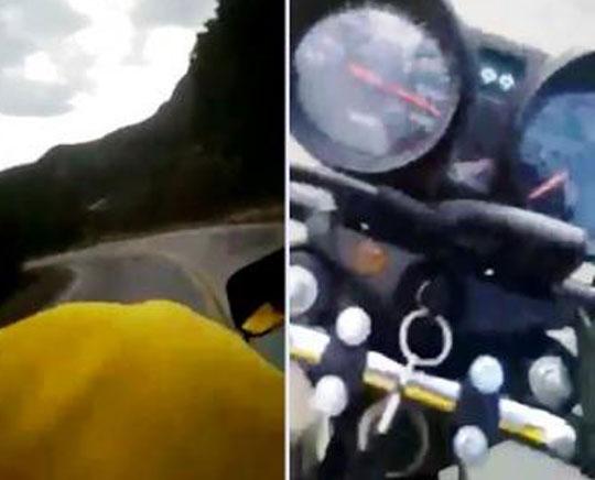 Livramento: Em alta velocidade, jovens filmam o próprio acidente na BA-148. Veja Vídeo