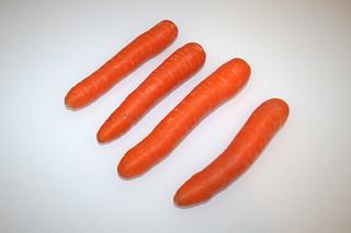 02 - Zutat Möhren / Ingredient carrots