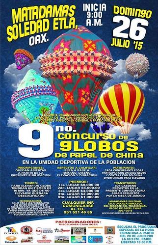 Concurso de Globos de Matadamas Soledad Etla 2015