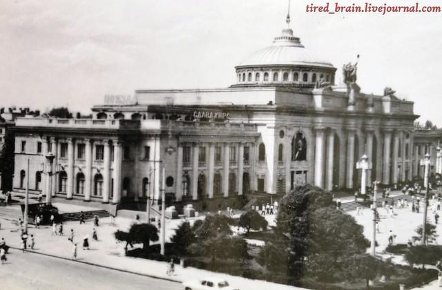 Одесса, 1968. Железнодорожный вокзал
