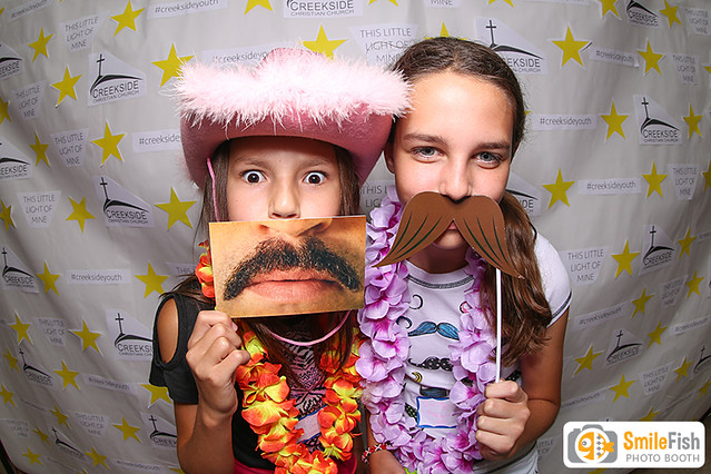 church event photo booth rental