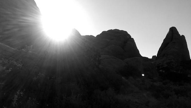 Head toward the light