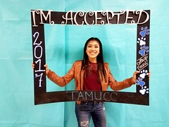 Congratulations to Alma Guerrero who got accepted to Texas A&M University-Corpus Christi in Corpus Christi, Texas! #CollegeBound #CollegeBoundBulldogs #Somerset2017