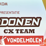 ploegvoorstelling 2017: Donen Vondelmolen CX Team