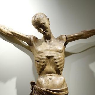 תמונה של Sforza Castle ליד Milano. christ crucified giovanangelodelmaino italianart italy milan castellosforzesco pinacoteca sforzacastle