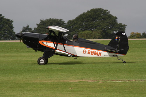 G-BBMH EAA Biplane P.1 Sywell 300814
