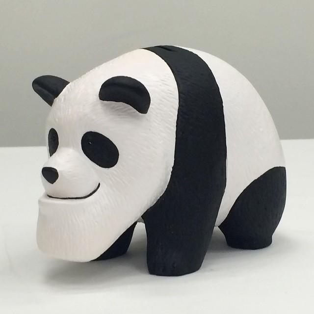 大熱門轉蛋「厚到星球」商品化! 將推出「厚到熊貓」造型「厚到馬克杯」與「厚到存錢筒」~ シャクレルパンダ マグカップ 貯金箱