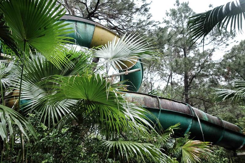 Hue - Ho Thuy Tien - Abandoned Water Park - Slides 6