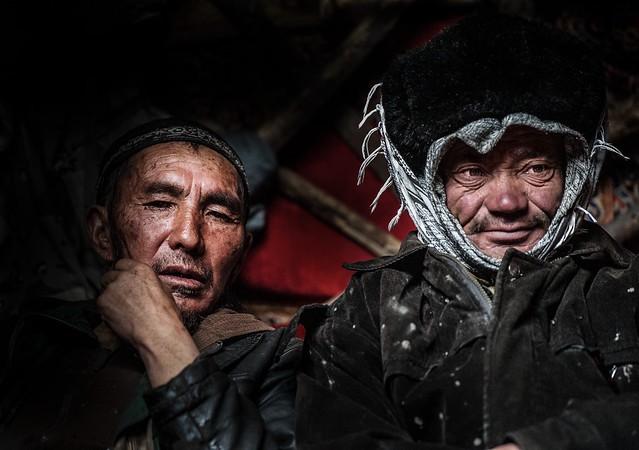 Afghanistan, Pamir, kyrkyz men