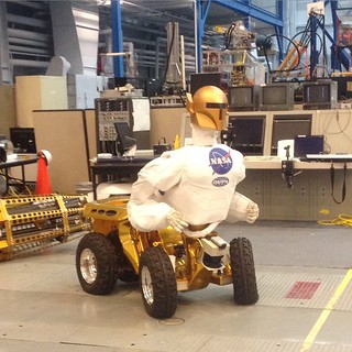 Robo-naut at NASA