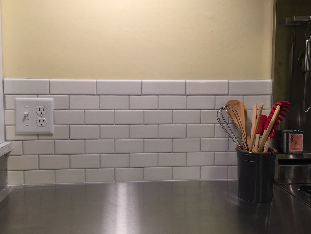 Wiggins tile applying grout to the small format subway tile color wiggins tile applying grout to the small format subway tile color named platinum is a dailygadgetfo Image collections