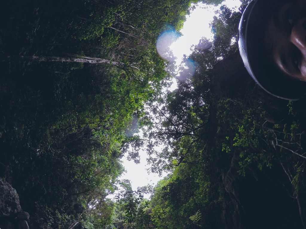 One of my favorite views during canyoning was the sight above