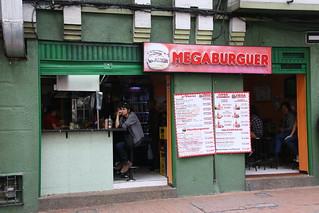 MEGABURGER!!! Bogota, Colombia.