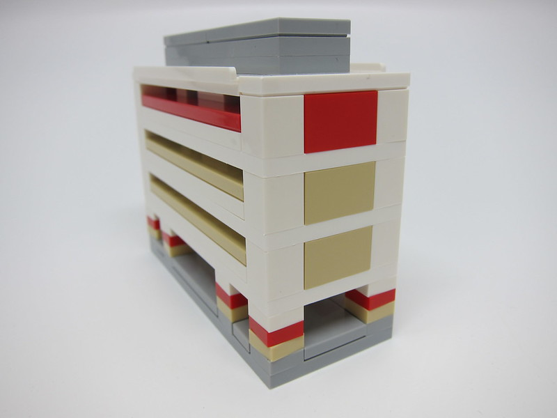 LEGO SG50 Limited Edition Singapore Icons Mini Build - HDB Flat - 2