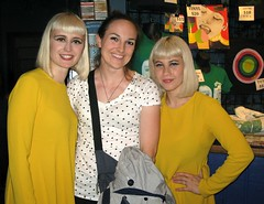 With Lucius @ 9:30 Club, 5/21/14