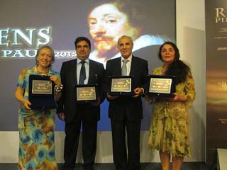 Casamassima-Vitoronzo Pastore ritira il premio Rubens