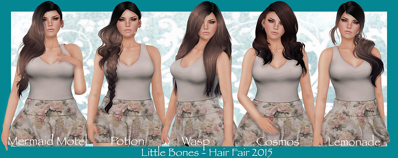 Little Bones - Hair Fair 2015