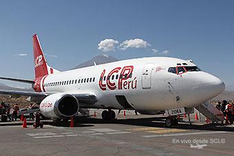 LC Peru B737-500 AQP (Juan Manuel Temoche)