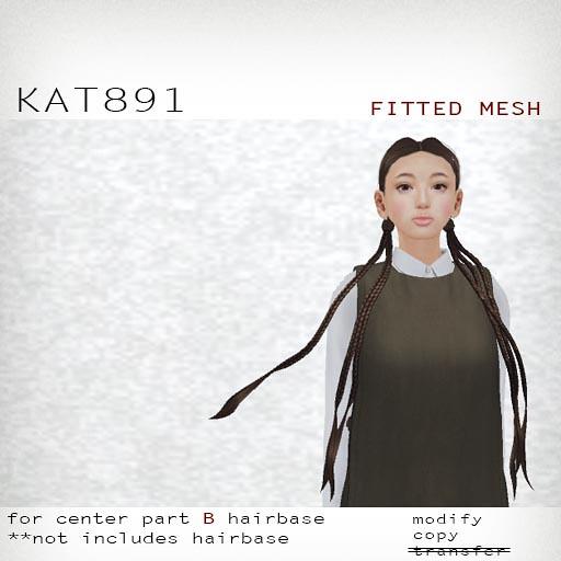 booN KAT891 hair