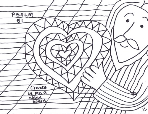 Free Bible Coloring Pages For Psalm