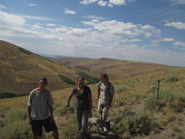 Sage Grouse Protective Flagging July 31st-August 2nd