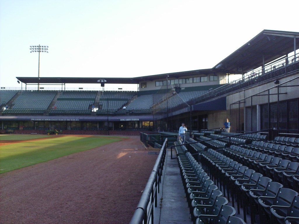 Hank Aaron Stadium In The Ballparks
