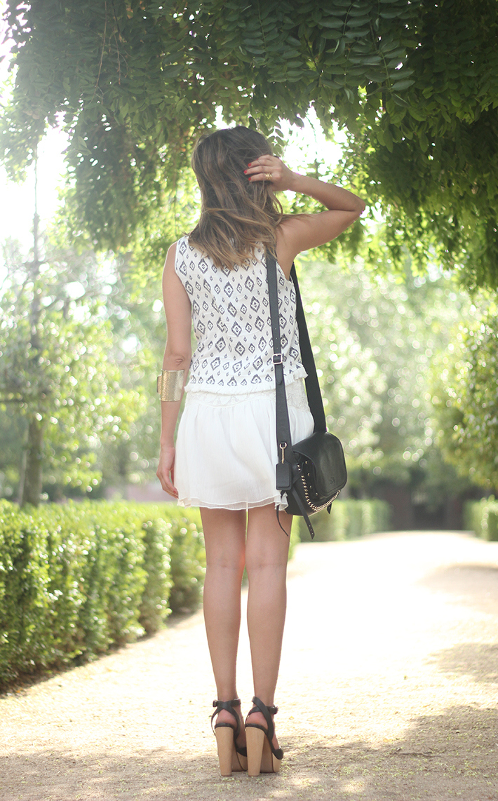 Black & White Summer Outfit Mango15