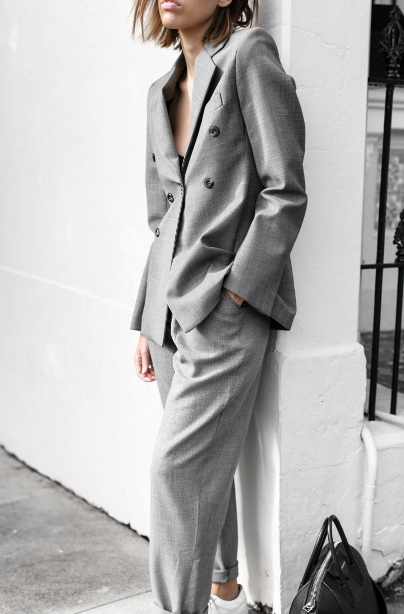 modern legacy, fashion blog, grey, street style, suit, Ellery blazer, MyChameleon, minimal, monochrome, man style (1 of 1)