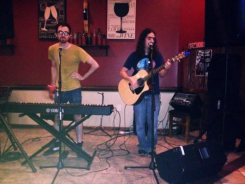 Mike Gombas at Tapped (July 31 2014)