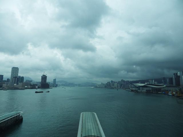 Hong Kong vu de la roue