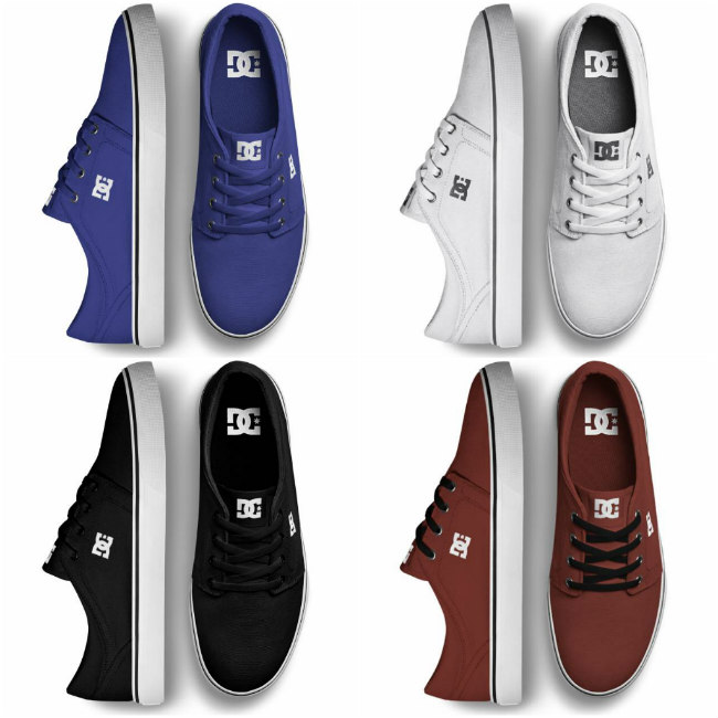 dc trase sneakers