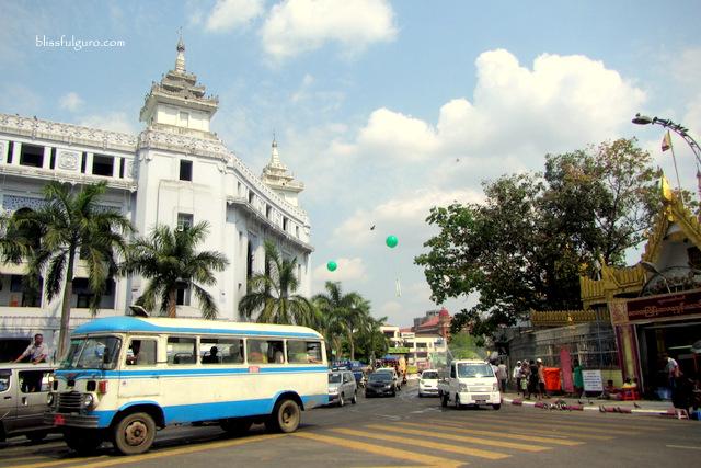 Yangon Myanmar Streets