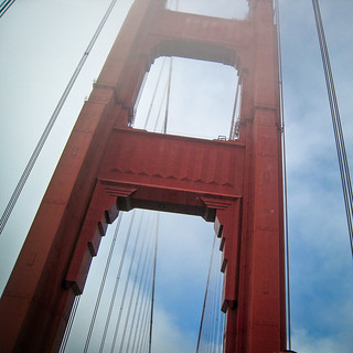 Bilde av Golden Gate Bridge. goldengatebridge sanfrancisco fog xss california unitedstates