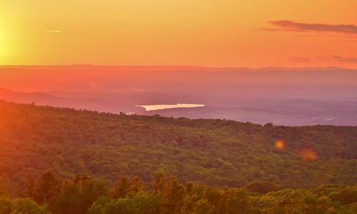 fire tower view sunset grafton rensselaer renssealaerplateau adk adirondack mountains sky color newyork ny nys tomhannock reservoir rgrennan rwgrennan ryan grennan nikon d610 2016 outside nature light orange