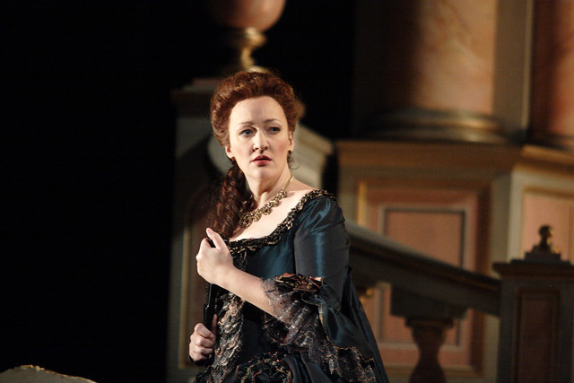 Michaela Schuster as the Princesse de Bouillon in Adriana Lecouvreur, The Royal Opera © ROH/Catherine Ashmore, 2010